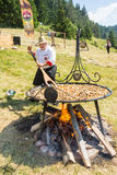 Head chef Festival Rozhen in Bulgaria Stock Image