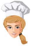 A head of a chef Royalty Free Stock Image