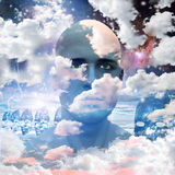 Head in Clouds Stock Images