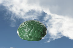 Head in the clouds Royalty Free Stock Photos