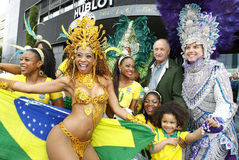 Head coach of Brazilian Football Team Luis Felipe Scolari Stock Photography