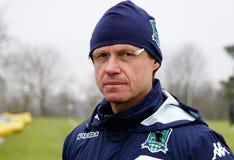 Head coach of fc krasnodar Oleg  Kononov on the open training session Stock Photos