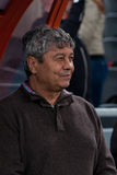 Head coach of FC Shakhtar Donetsk Mircea Lucescu Stock Photo