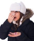 Head cold Stock Photos