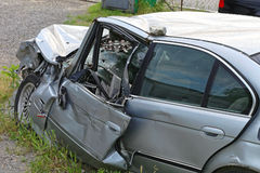 Head on Collision Stock Photography