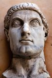 Head of the Colossus of Constantine Royalty Free Stock Photo