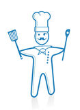 Head cook Royalty Free Stock Image