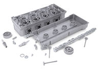 Head of cylinder block Royalty Free Stock Images