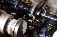 Head of diesel engine royalty free stock photos
