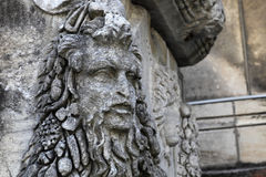 Head of Dionysus Royalty Free Stock Image