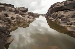 Head dog at Sam Phan Bhok Grand Canyon Stock Photo