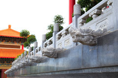 Head dragon statue . Royalty Free Stock Photos