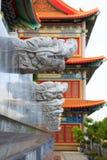 Head dragon statue . Royalty Free Stock Image