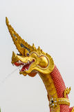 Head Dragon statue. thai style Royalty Free Stock Photos