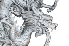 The head of dragon statue. Stock Photography