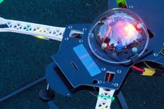 Head of drone in evening Stock Photography