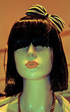 Head of the dummy-girl Royalty Free Stock Photos