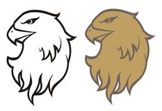 Head eagle Royalty Free Stock Photo
