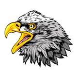 Head of Eagle Mascot Vector Logo stock illustration