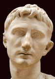 Head of Emperor Augustus Royalty Free Stock Photo