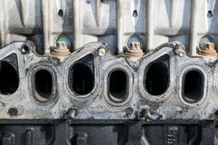 Head engine detail Royalty Free Stock Image