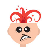 Head Explosion Royalty Free Stock Photo