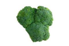 Head of farm fresh healthy green broccoli Stock Photo