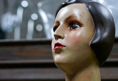 head female mannequin Royalty Free Stock Image