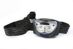 Head flashlight Stock Image