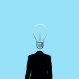 Head full of ideas Stock Photography