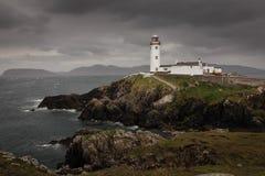 head fyr för fanad Ståndsmässiga Donegal ireland fotografering för bildbyråer