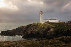 head fyr för fanad Ståndsmässiga Donegal ireland royaltyfri foto
