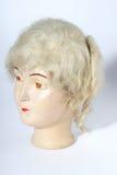 head gammalt för docka Arkivfoto