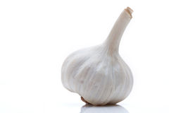 Head of garlic Stock Photo