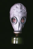 Head with gas mask Stock Photo