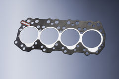 Head Gasket. Of a small diesel engine Stock Images