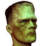 head gigantisk profilsikt Arkivfoton