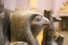 Head of God Horus - Cairo Museum royalty free stock photo