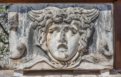 Head of Gorgon Medusa Stock Photography