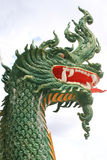head green dragon Stock Images