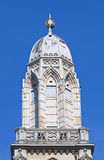 Head of the Grossmuenster church in Zurich Stock Image