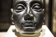 Head of Gudea, sumerian art Royalty Free Stock Image