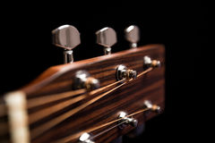 Head of the guitar Stock Photography
