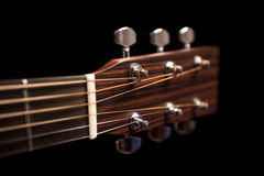 Head of the guitar Royalty Free Stock Image