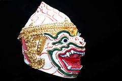Head of Hanuman. Ramayana story stock image