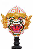 Craft replica head of Hanuman isolated ,Hanuman Ma Stock Images