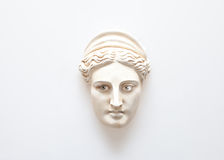 Head of Hera sculpture with human eyes Royalty Free Stock Images
