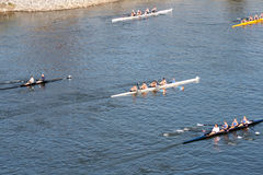 Head of the Hooch Rowing Regatta Stock Photography