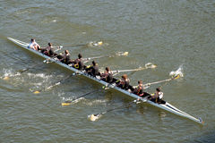 Head of the Hooch Rowing Regatta Royalty Free Stock Photos