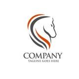 Head Horse symbol Royalty Free Stock Image